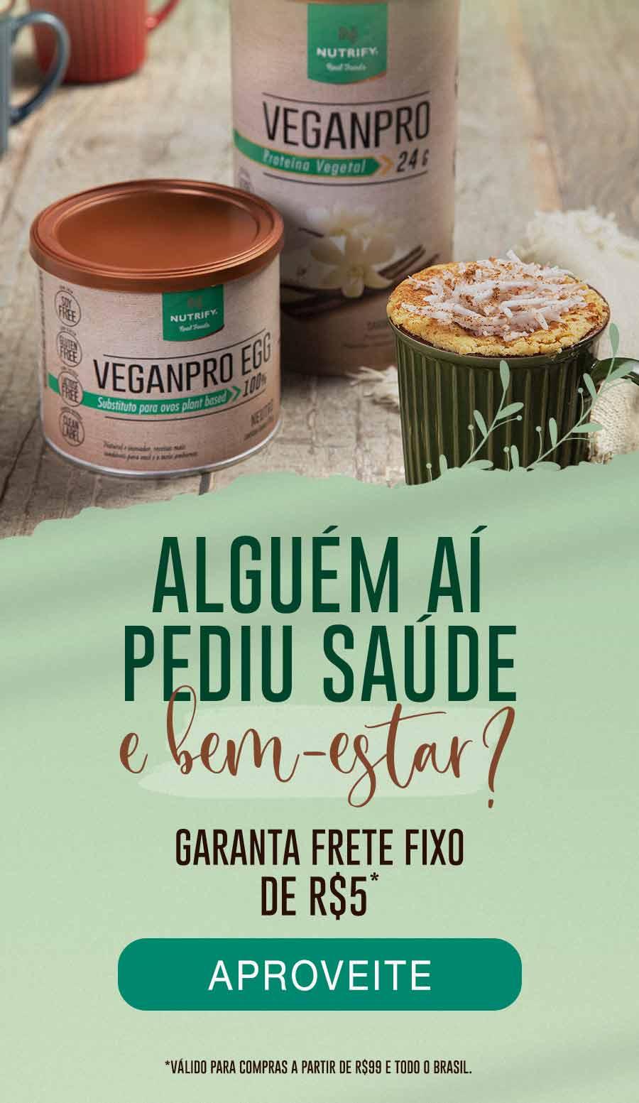 Frete fix de R$5 para compras acima de R$99 para todo o Brasil