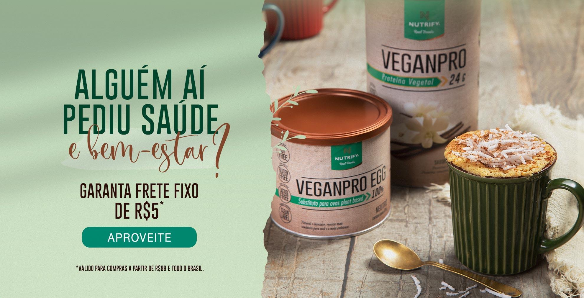 Frete fixo de R$5 para compras acima de R$99 para todo o Brasil